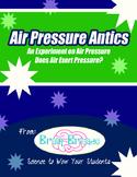 Air Pressure III   Fun STEM Activity, Science Experiment