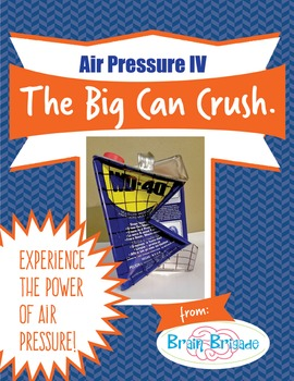 Air Pressure IV: The BIG Can Crush   Demonstration of Area