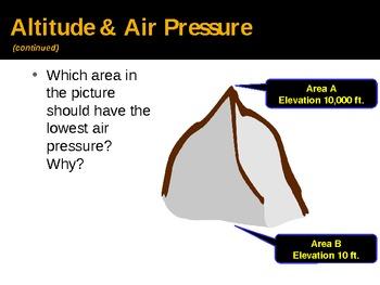 Air Pressure PPT  by Zie