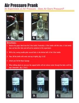 Air Pressure II: Air Pressure Prank (an Experiment!)