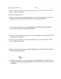 Air Pressure Systems Map worksheet