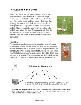 Air Pressure: The Trick Bottle
