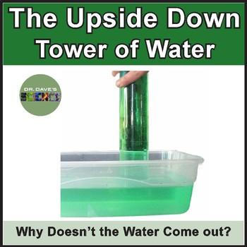Air Pressure: Upside Down Water