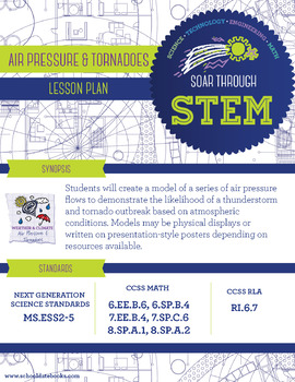 Air Pressure and Tornadoes - STEM Lesson Plan