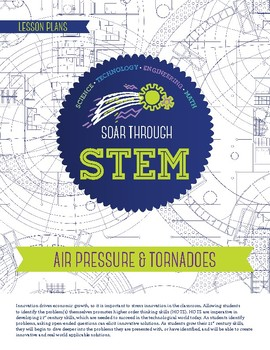 Air Pressure and Tornadoes - STEM Lesson Plan With Journal page