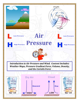 Air Pressure and Wind with LAB (DI and AWESOME and FUN!)