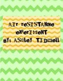 Air Resistance Experiment
