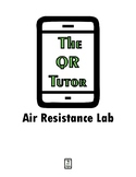 Air Resistance Lab Activity