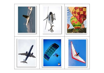 Air, Road, Water - Transport Matching Activity