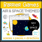 Air and Space Themed Barrier Games Speech Therapy