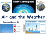 Air & The Weather Lesson & Flashcards - task cards, study