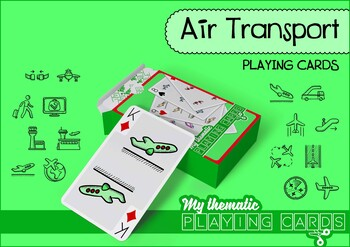 Air Transport Themed Playing Cards Deck