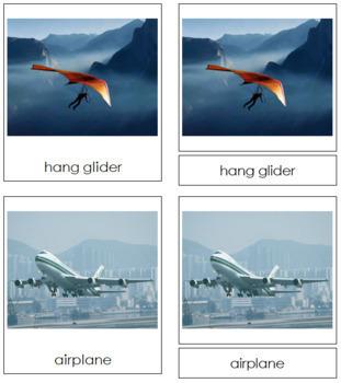 Air Transportation: 3-Part Cards