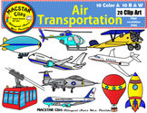 Air Transportation Clip Art Transportation Personal and Commercial Use 20 images