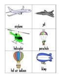 Air Transportation Vocab Cards