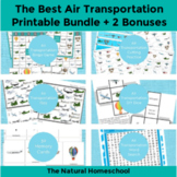 Air Transportation for Kids Printable Bundle + 2 Land, Water & Air BONUSES