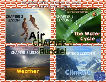 Air, Water Cycle, Weather, & Climate Houghton Mifflin 4th