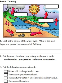 Air & Water in the Environment Unit Test