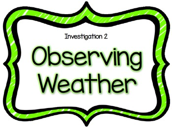 Air & Weather FOSS Science Materials