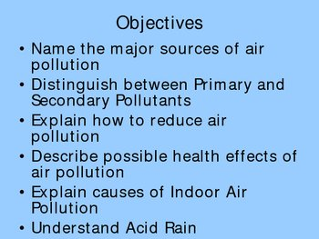 Air and Atmosphere Ppt for Environmental Science