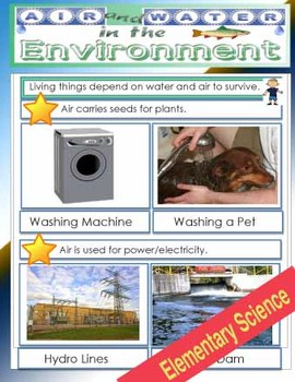 Air and Water in The Environment Science PDF File