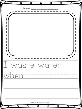Air and Water in the Environment: Ontario Grade 2 Science - Differentiated
