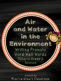 Air and Water in the Environment: Ontario Grade 2 Science
