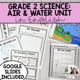 Grade 2: Air and Water in the Environment Unit (English) P