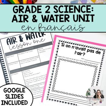 Air & Water in the Environment Unit / L'air et l'eau dans l'environnement French