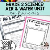 Air & Water in the Environment Unit / L'air et l'eau PRINT
