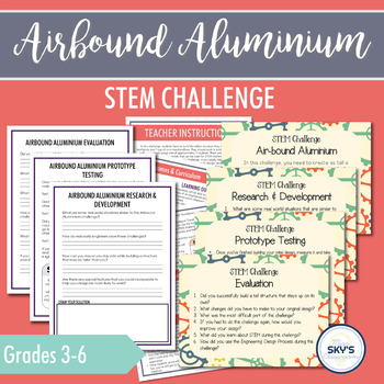 Air-bound Aluminum STEM Challenge