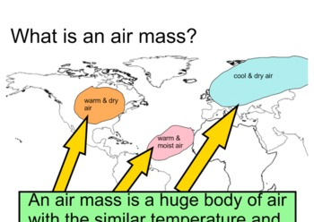 Air mass SMARTboard supplemental activity