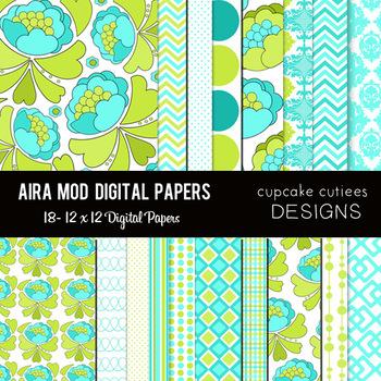 Aira Mod Paper Pack Digital Set- 12x12