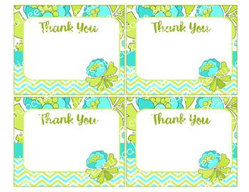 Aira Mod Teacher- Thank You Digital Thank You Notes Printable- FREEBIE