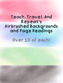 Airbrush Backgrounds and Page Headings
