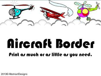 Aircraft Border