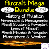Aircraft MEGA Bundle: NO PREP! SIX Units, 76 Days, Lessons, Activities, Tests