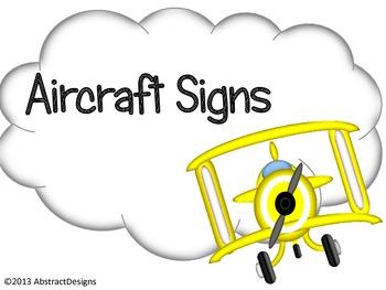Aircraft Signs