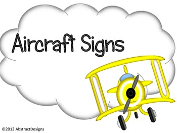 Aircraft Signs