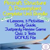 Aircraft Structure & Powerplant Unit Bundle: 12 Days, NO PREP!