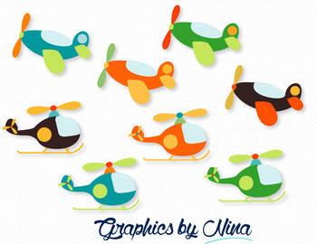 Aircrafts Clipart