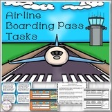 Airline Boarding Pass Tasks