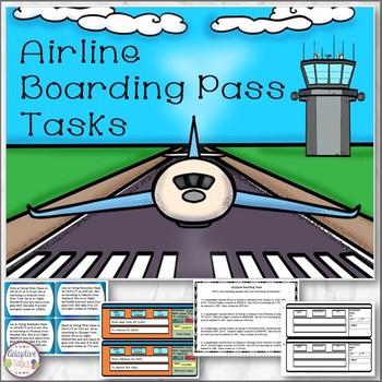 Airline Boarding Pass Tasks
