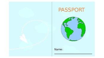 Airline ticket and passport #ausbts19