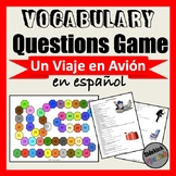Airplane & Airport Vocabulary Questions Game (Asi Se Dice Chapter 10)