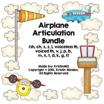 Airplane Articulation Bundle