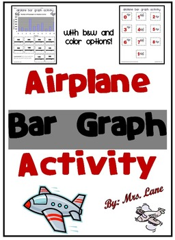 Airplane Bar Graph Activity