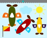 Airplane clipart commercial use