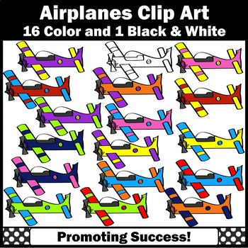 Airplane Clipart for Transportation Unit Commercial Use SPS