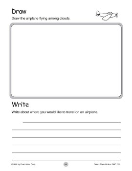 Airplane (Draw...Then Write)